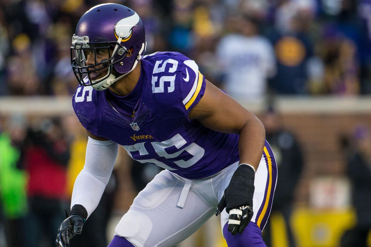 Anthony Barr Launching New Foundation Daily Norseman
