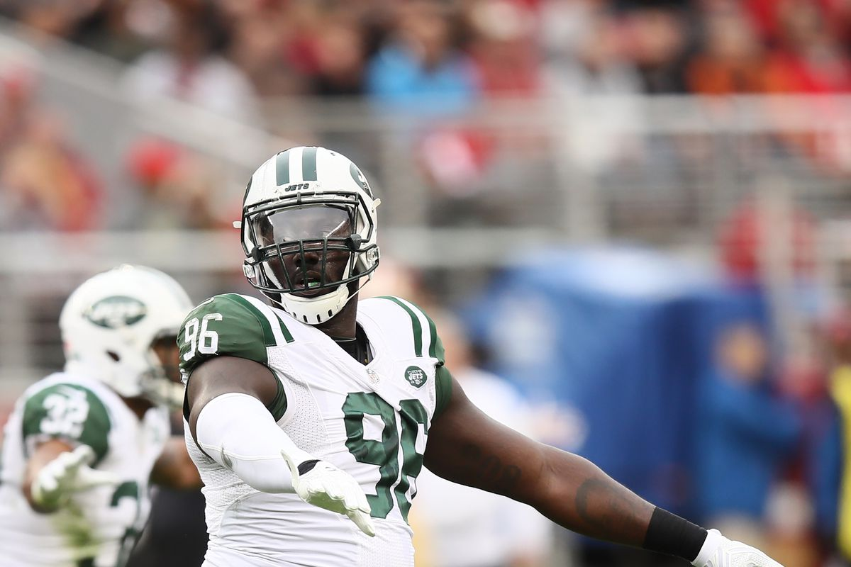 Stud Jets defensive tackle Muhammad Wilkerson is questionable