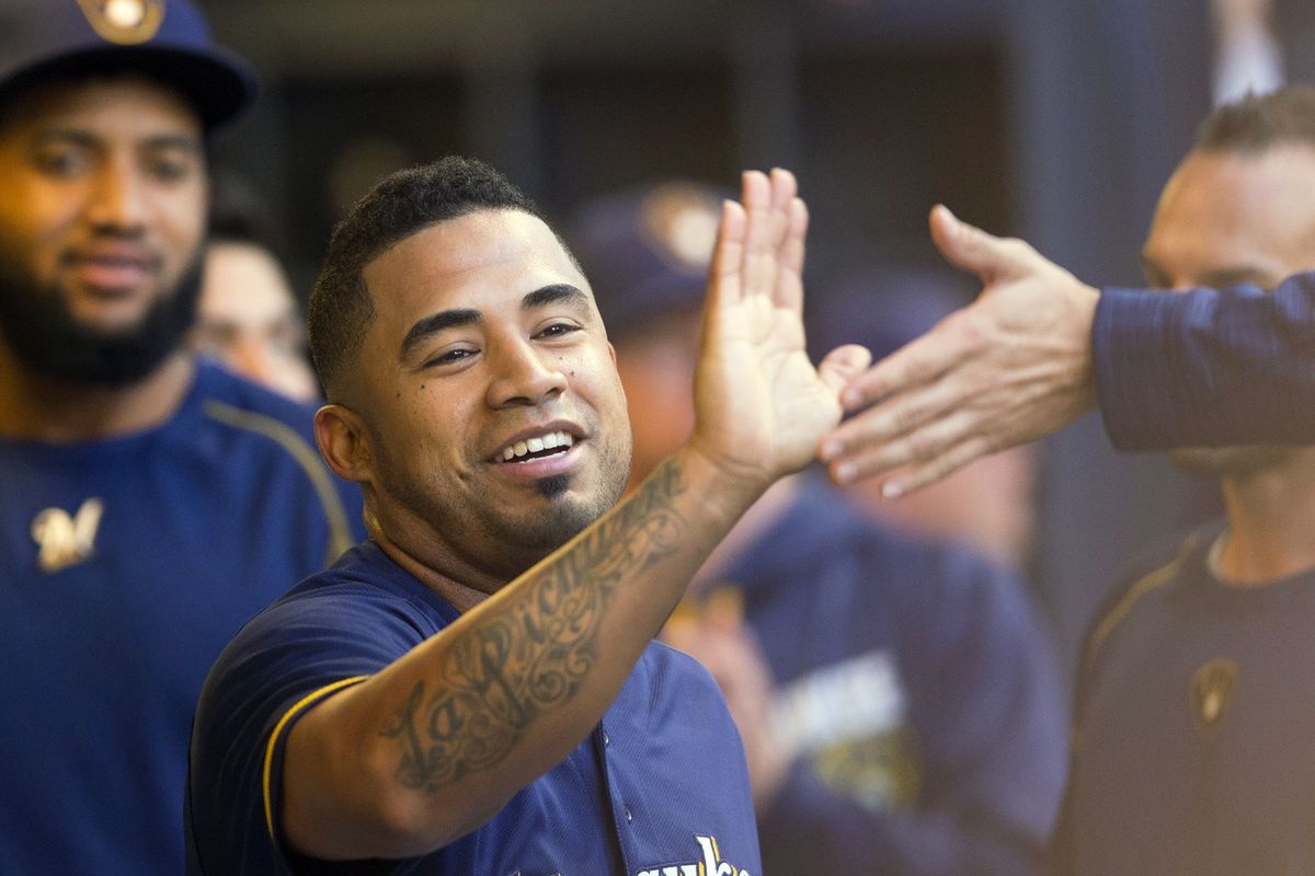 Brewers' Pina and Braun leave game against Diamondbacks with injuries