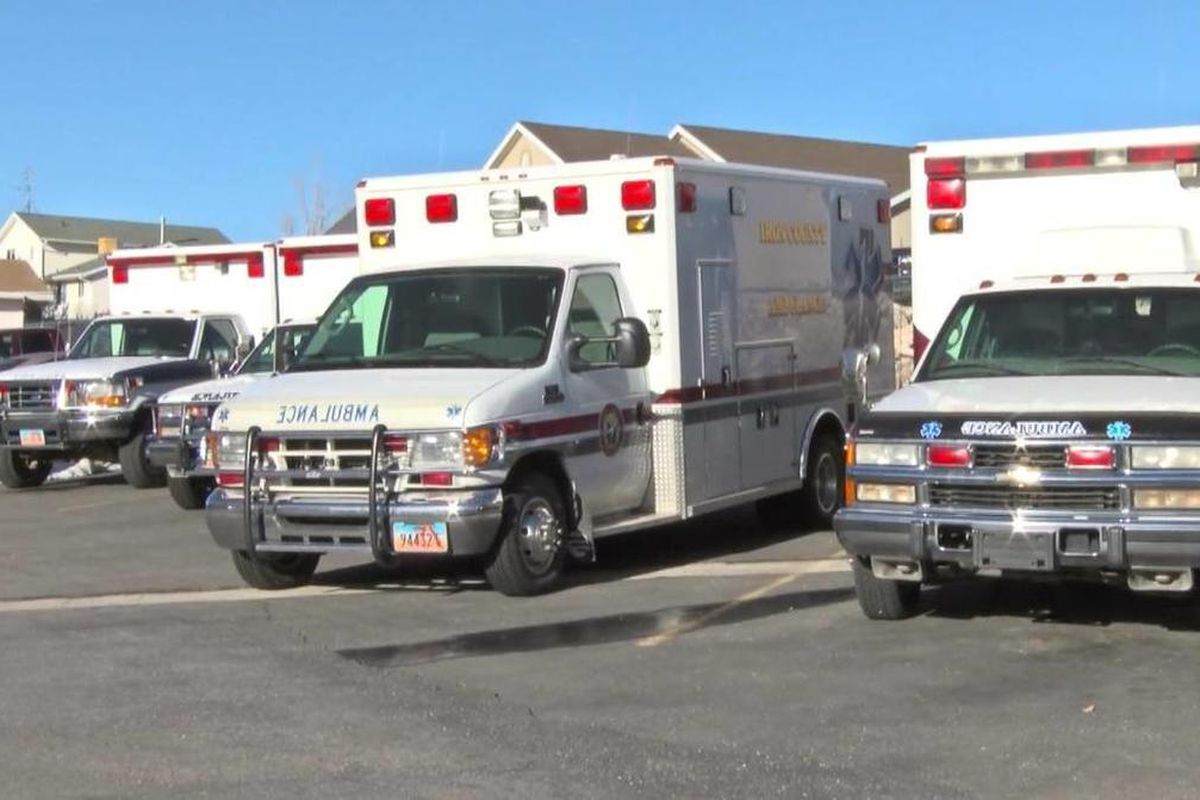 Iron County commissioners voted recently to sell the county ambulance service, which was being run under the sheriff's office. Gold Cross Ambulance bought the contract from the county.