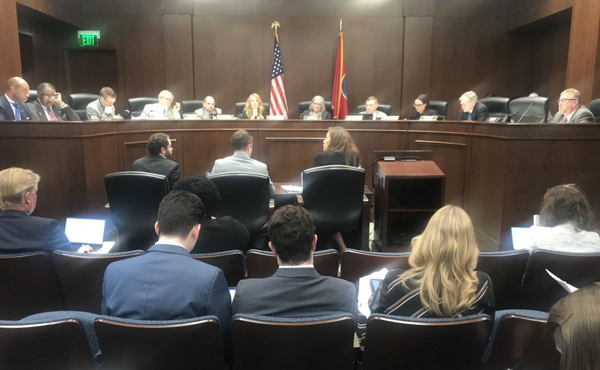 The House subcommittee on curriculum, testing, and innovation hears testimony on the reading bill from Tennessee Education Commissioner Penny Schwinn.