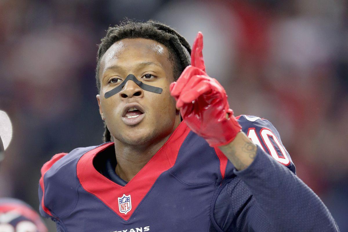 DeAndre Hopkins Talks Texans Quarterbacks Contract More Battle