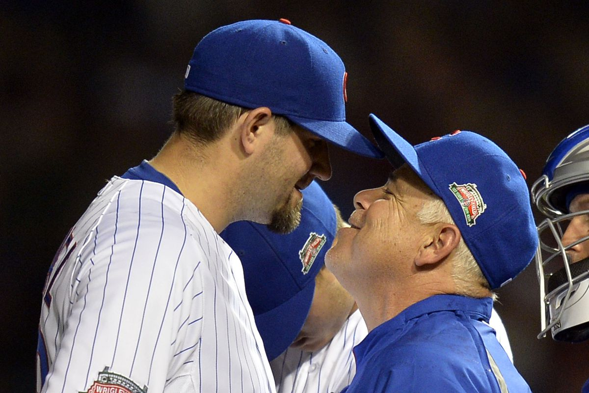 This photo of Rick Renteria with Jason Hammel is my favorite RR photo of the year.