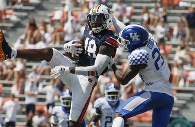 NCAA Football: Kentucky at Auburn