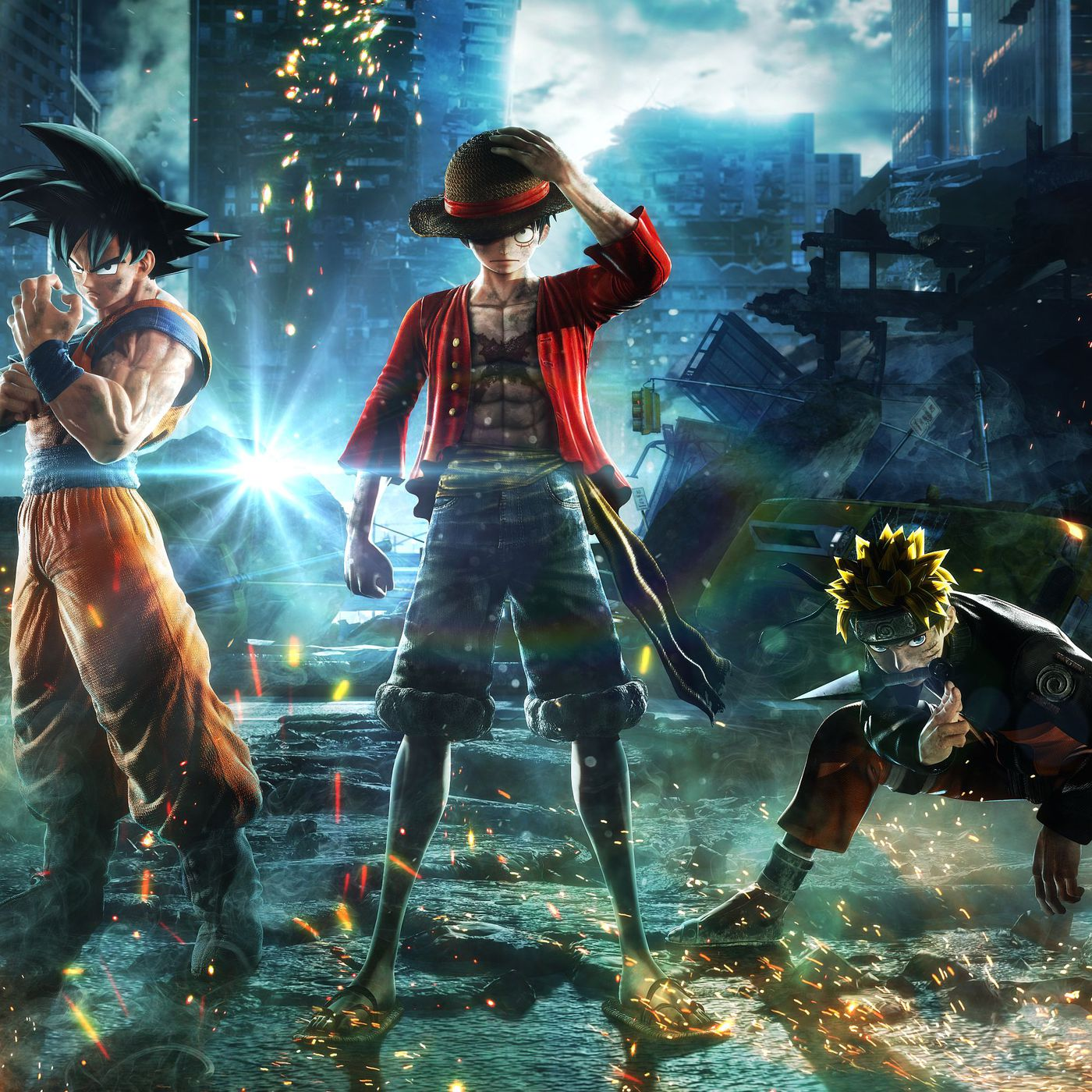 Jump Force is manga brought into the very, very real world - Polygon