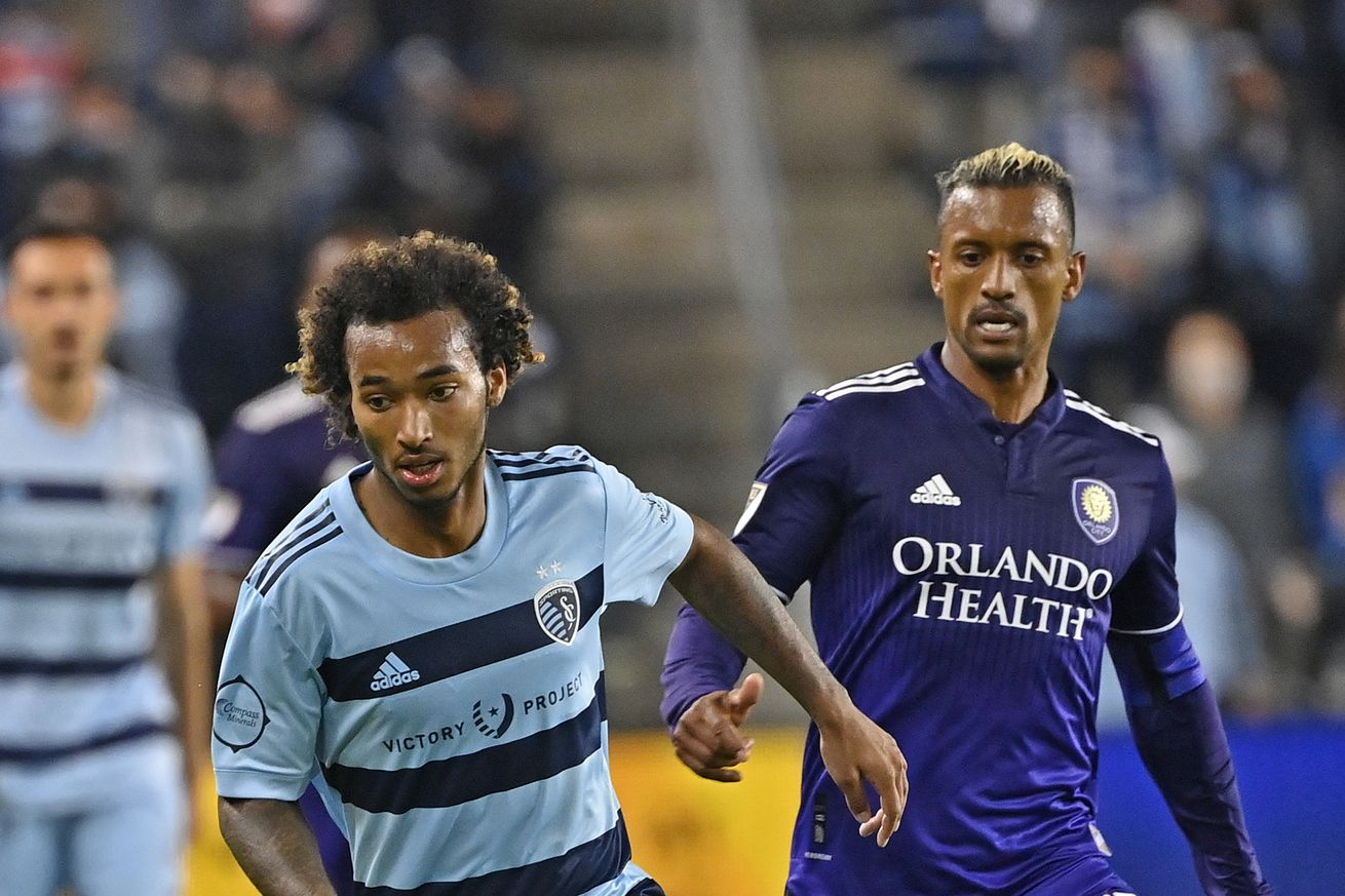 MLS: Orlando City SC at Sporting Kansas City
