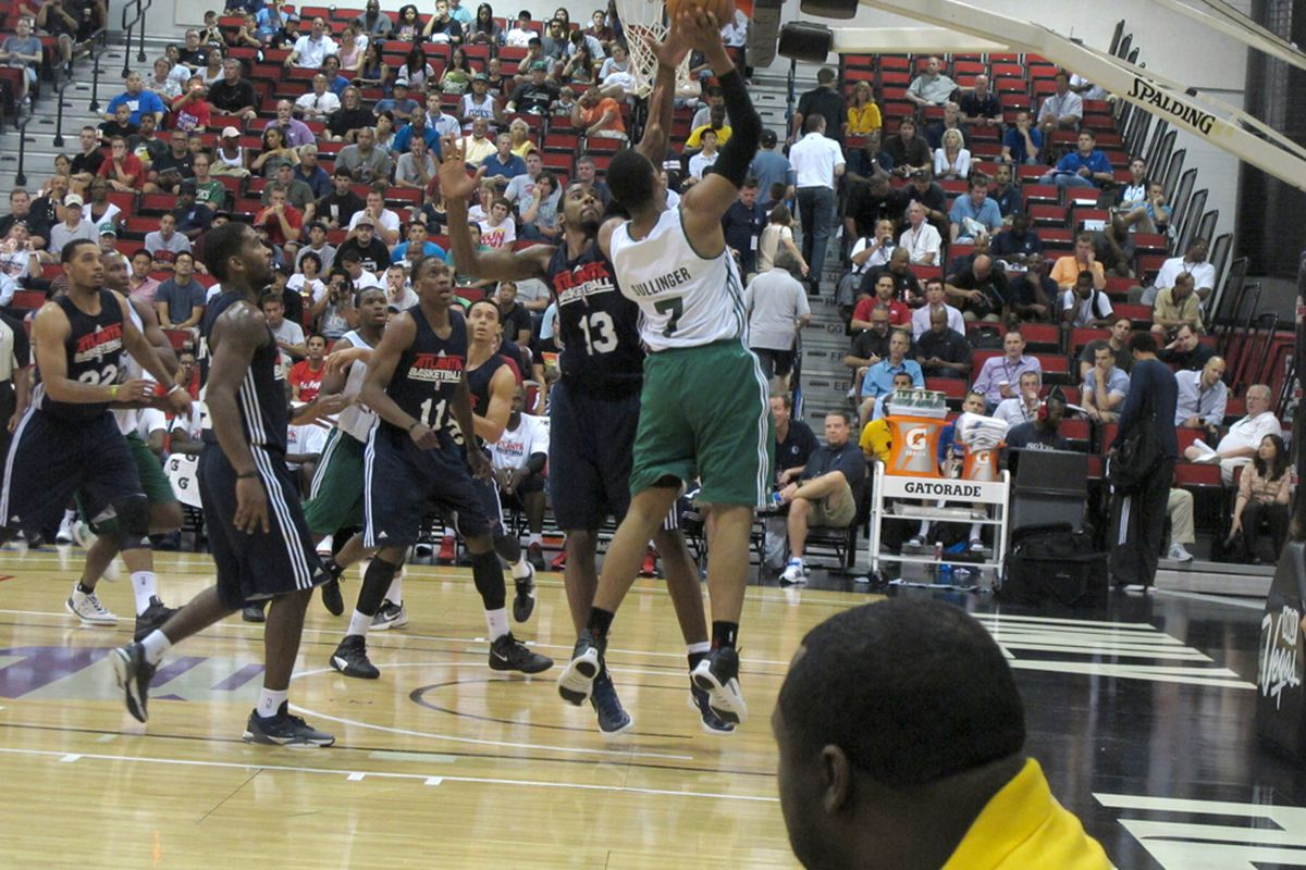 Sullinger takes it to the hoop - photo credit  Alexander Young (LolaSportsTalk)