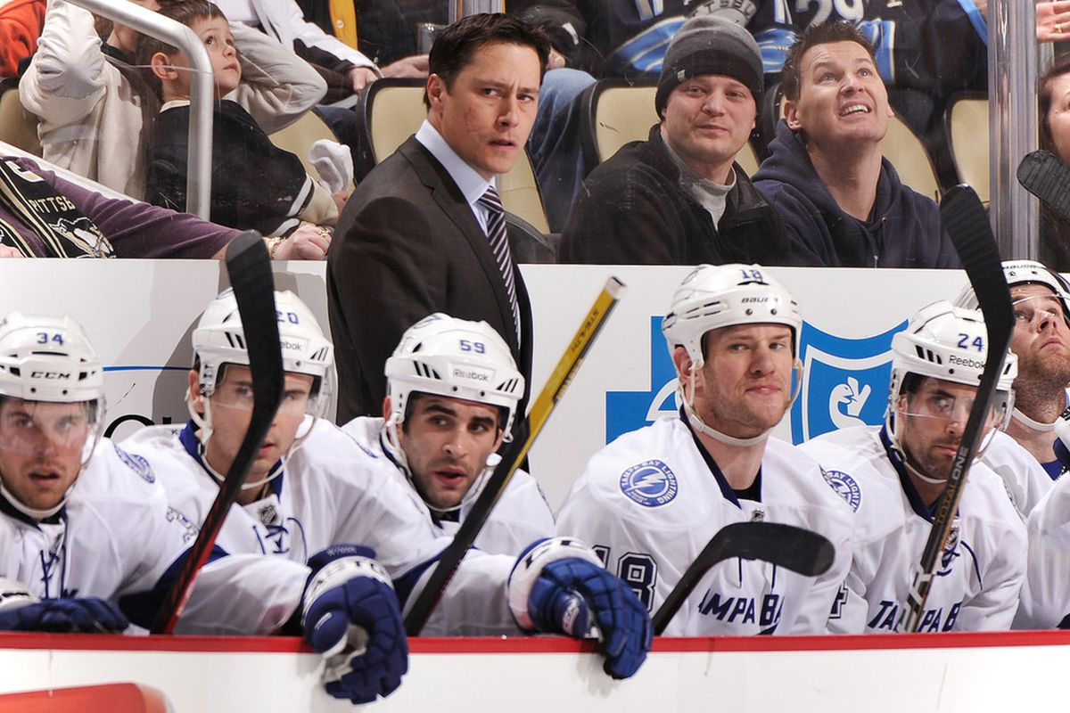 The Tampa Bay Lightning have relieved Guy Boucher of his coaching duties, effective immediately.