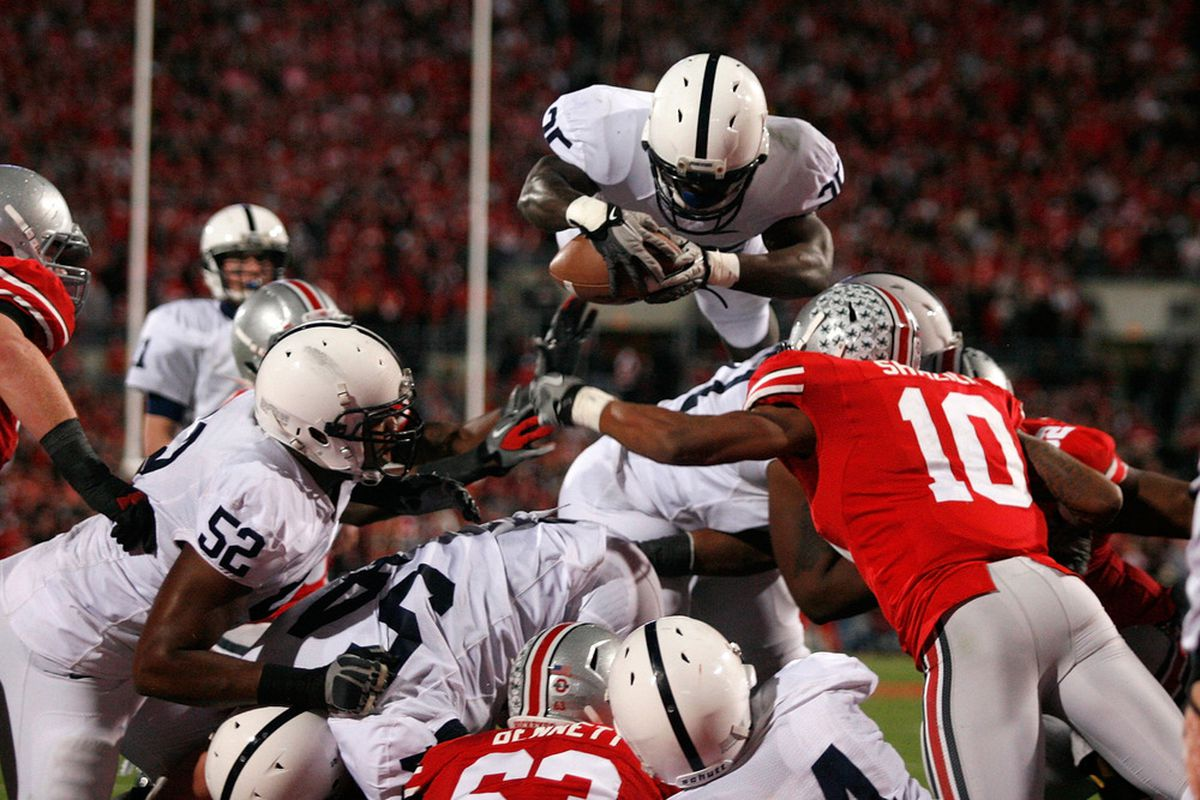 Silas Redd likely won't be diving into end zones in the Scarlet & Gray ever and likely neither will any from PSU's Class of 2013. Class of 2014? That's a whole other story.
