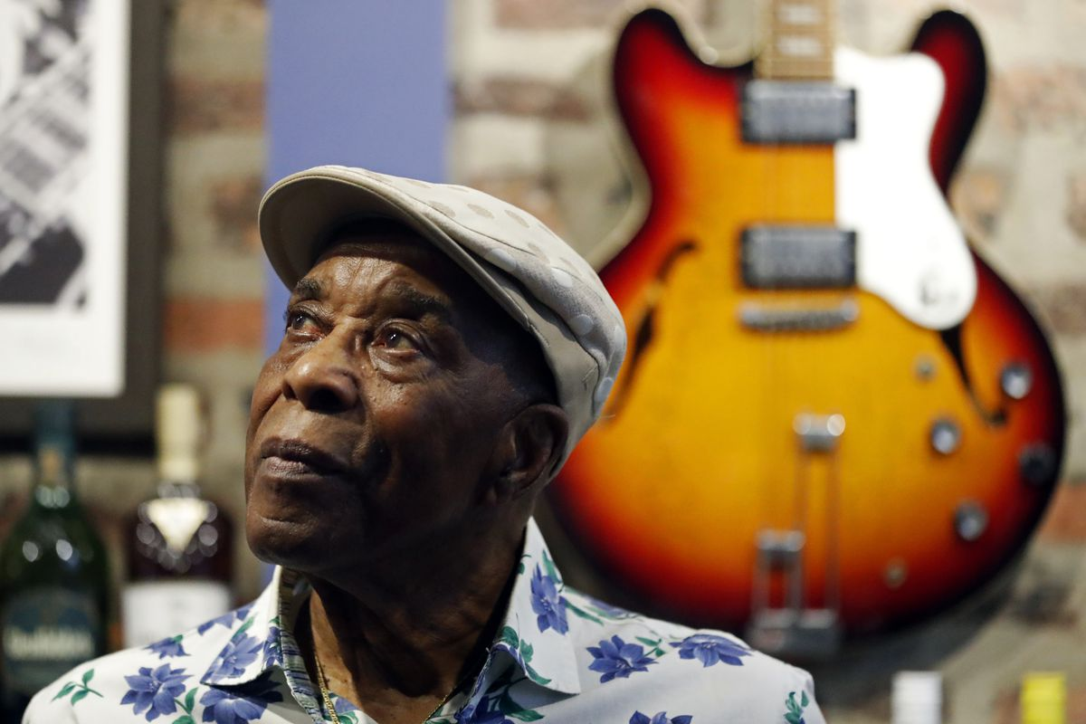 """""""Nobody was making a decent living off of playing the blues. It was going from town to town,"""" Buddy Guy says, of the early days of his career."""