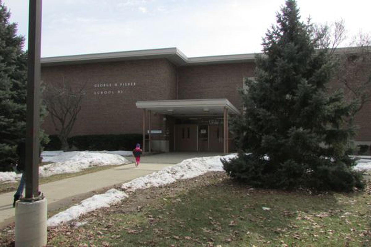 School 93, one of IPS's most troubled schools that Superintendent Lewis Ferebee has targeted for extra support and close monitoring, saw its principal's contract not renewed by the school board for next year. (Scott Elliott)