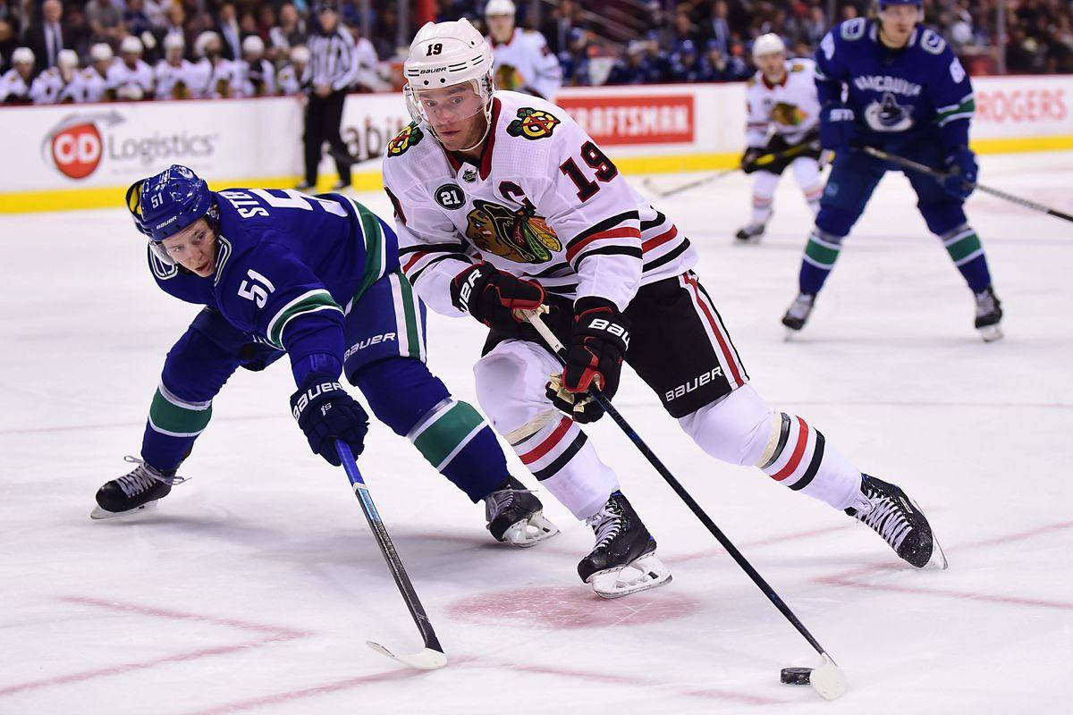 NHL: Chicago Blackhawks at Vancouver Canucks