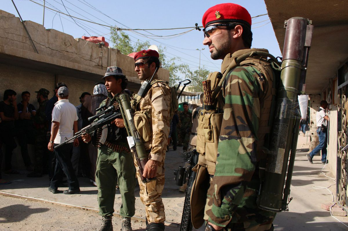 Iraqi Army STR/AFP/Getty Images