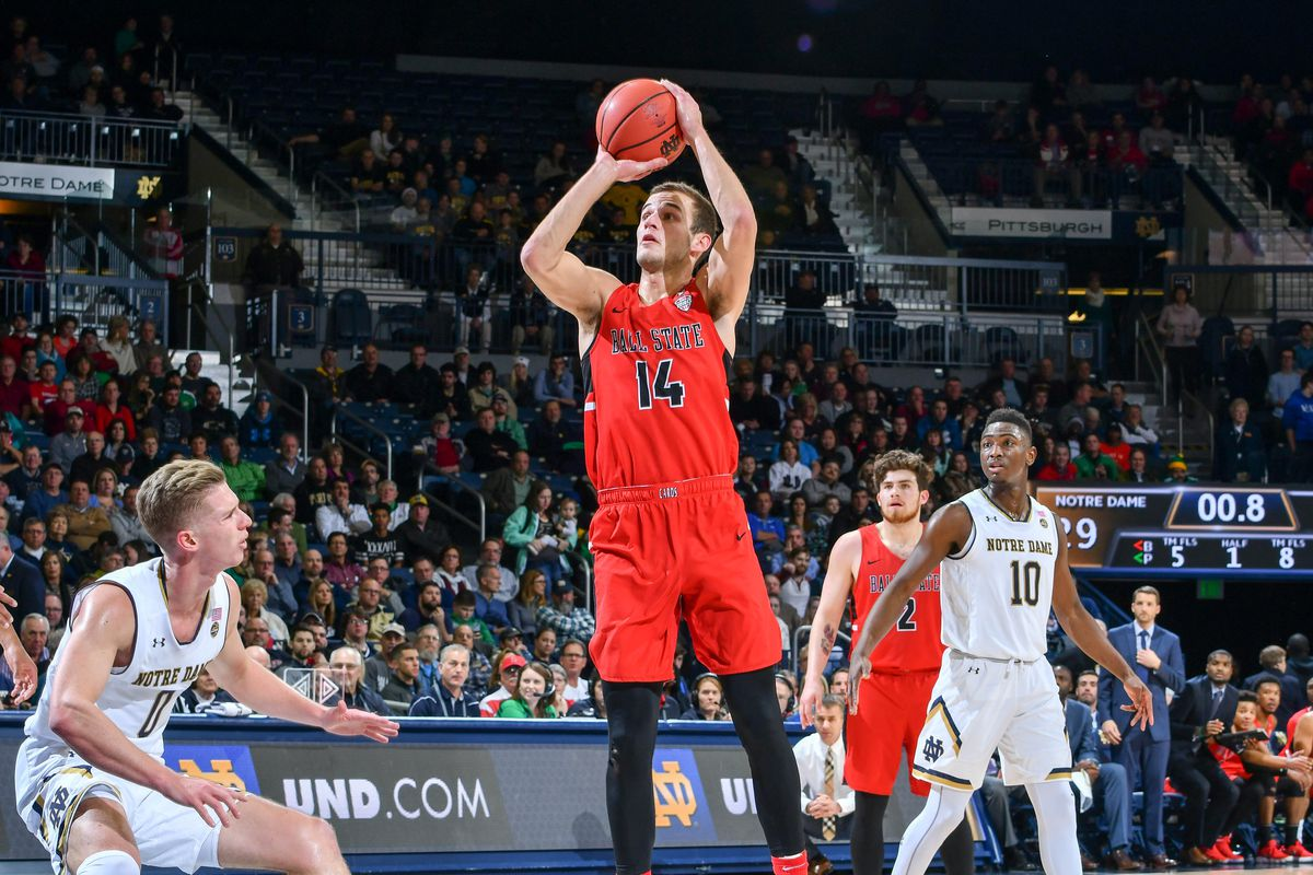 Ball State upsets Notre Dame with last-second 3