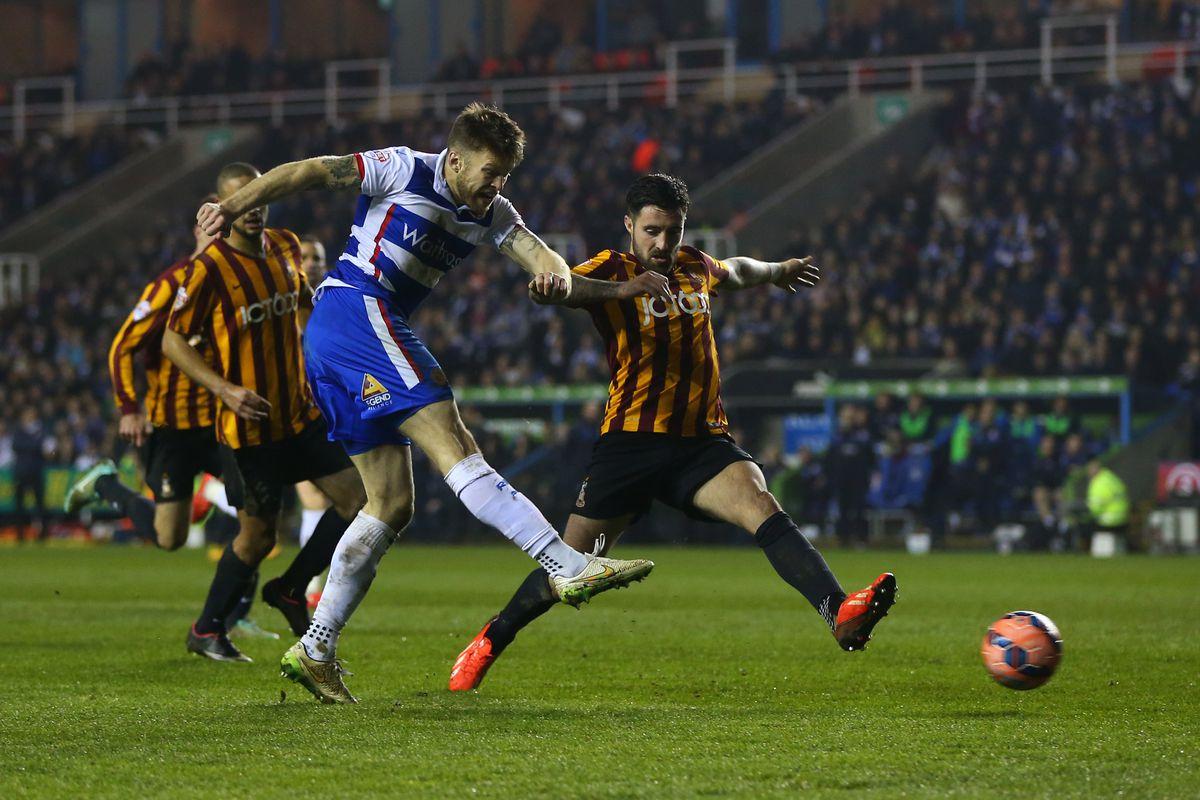 Soccer - The FA Cup Quarter Round Six replay - Reading v Bradford City
