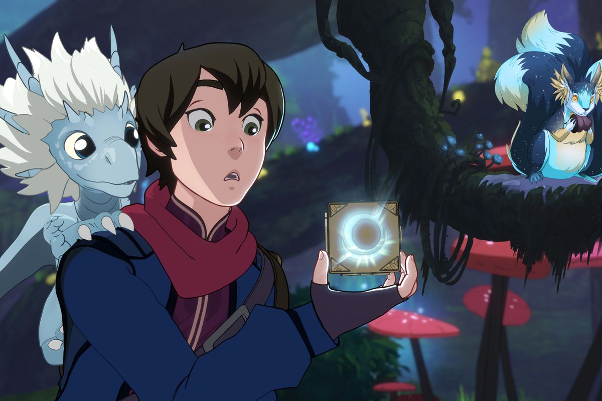 Image result for the dragon prince""