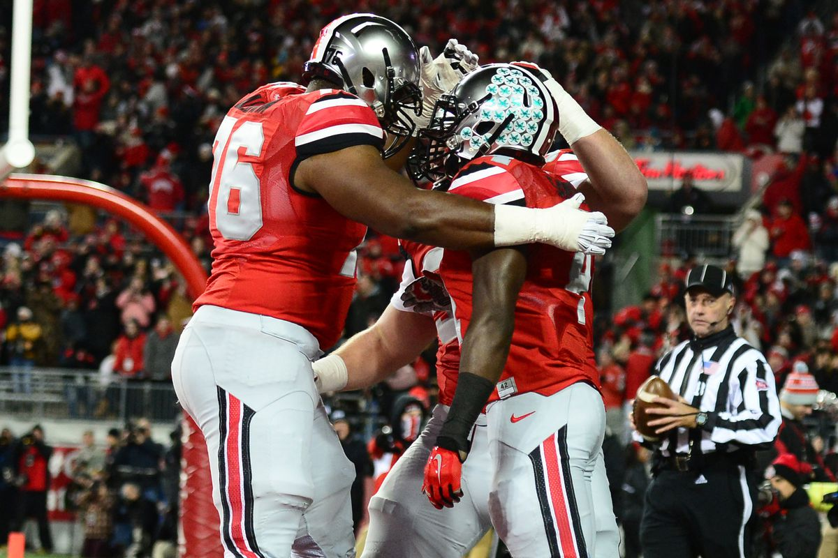 Proof that Ohio State touchdowns at night still count