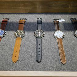 Just a few watch options.
