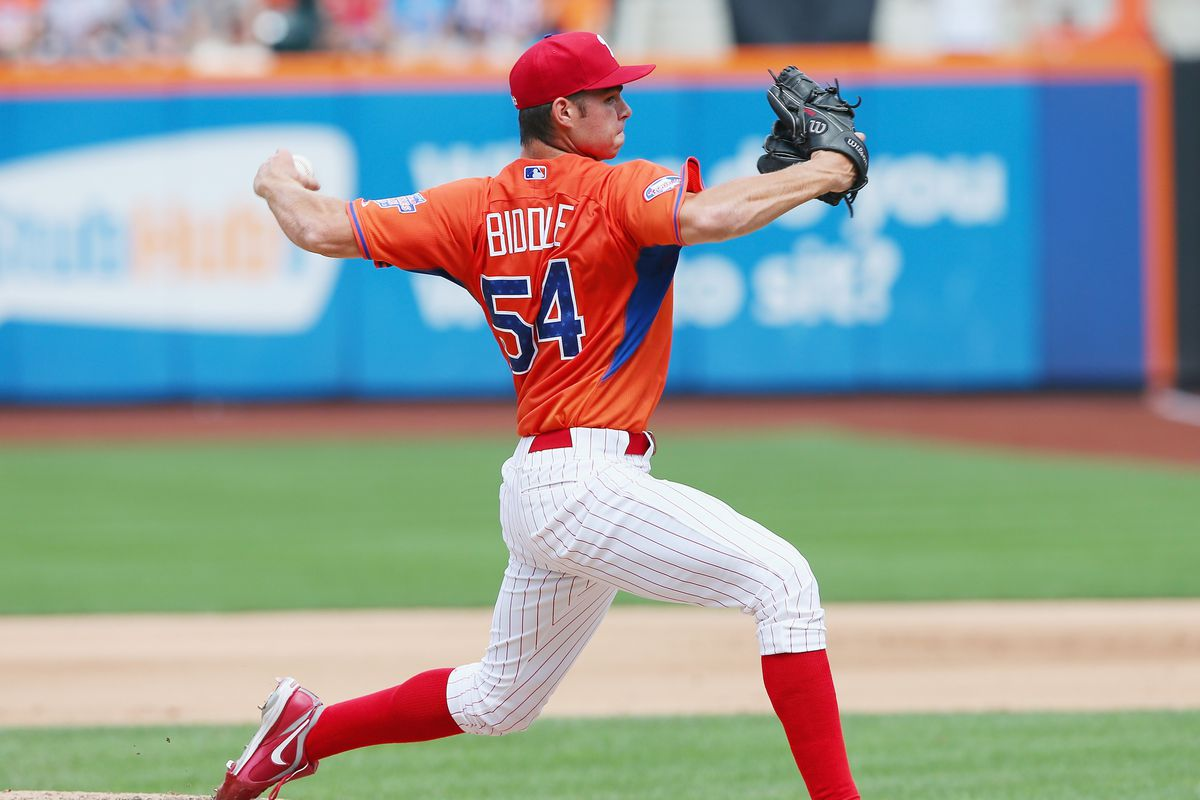 Jesse Biddle in the 2013 Futures Game