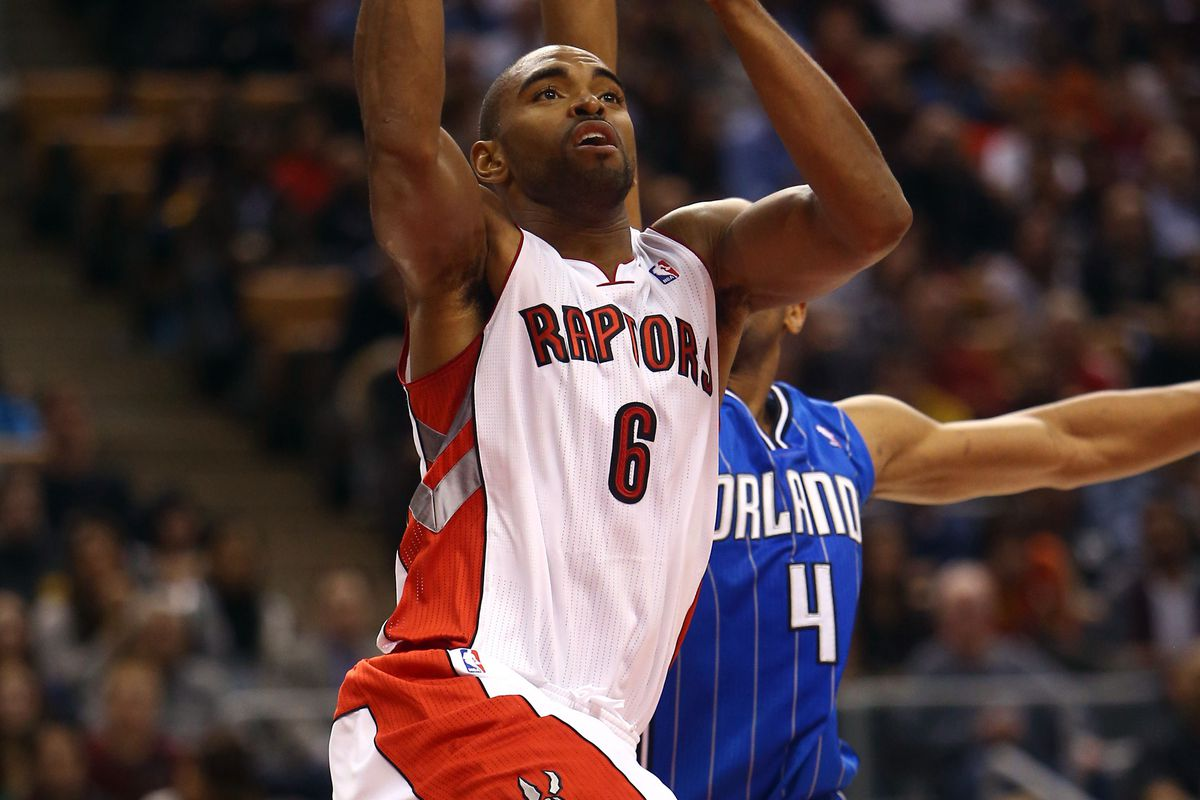 Alan Anderson and Arron Afflalo