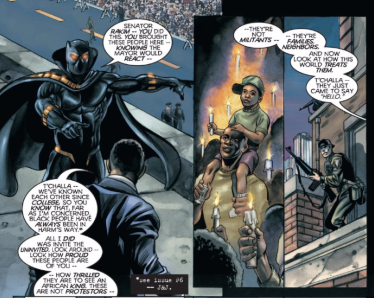 The Complex History Of Marvel S Black Panther The Ringer