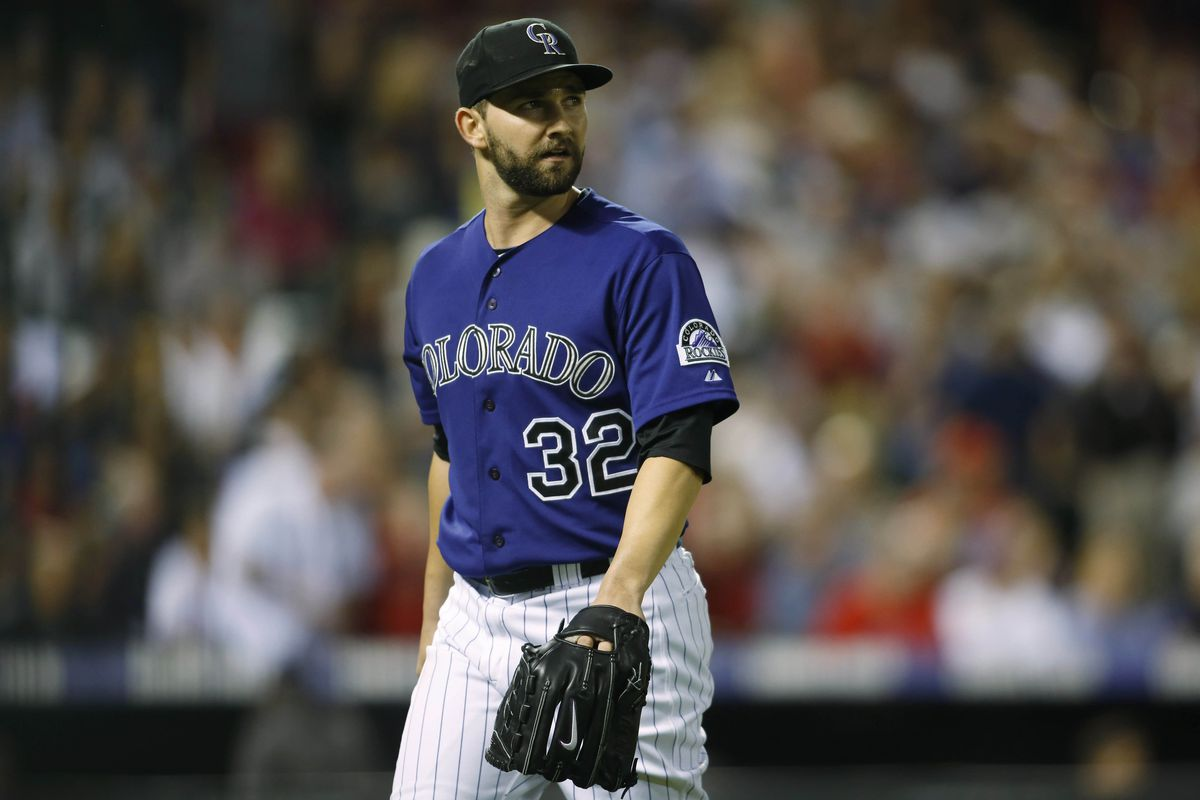 Tyler Chatwood has been scratched from his start Sunday, creating quite the conundrum for the Rockies.