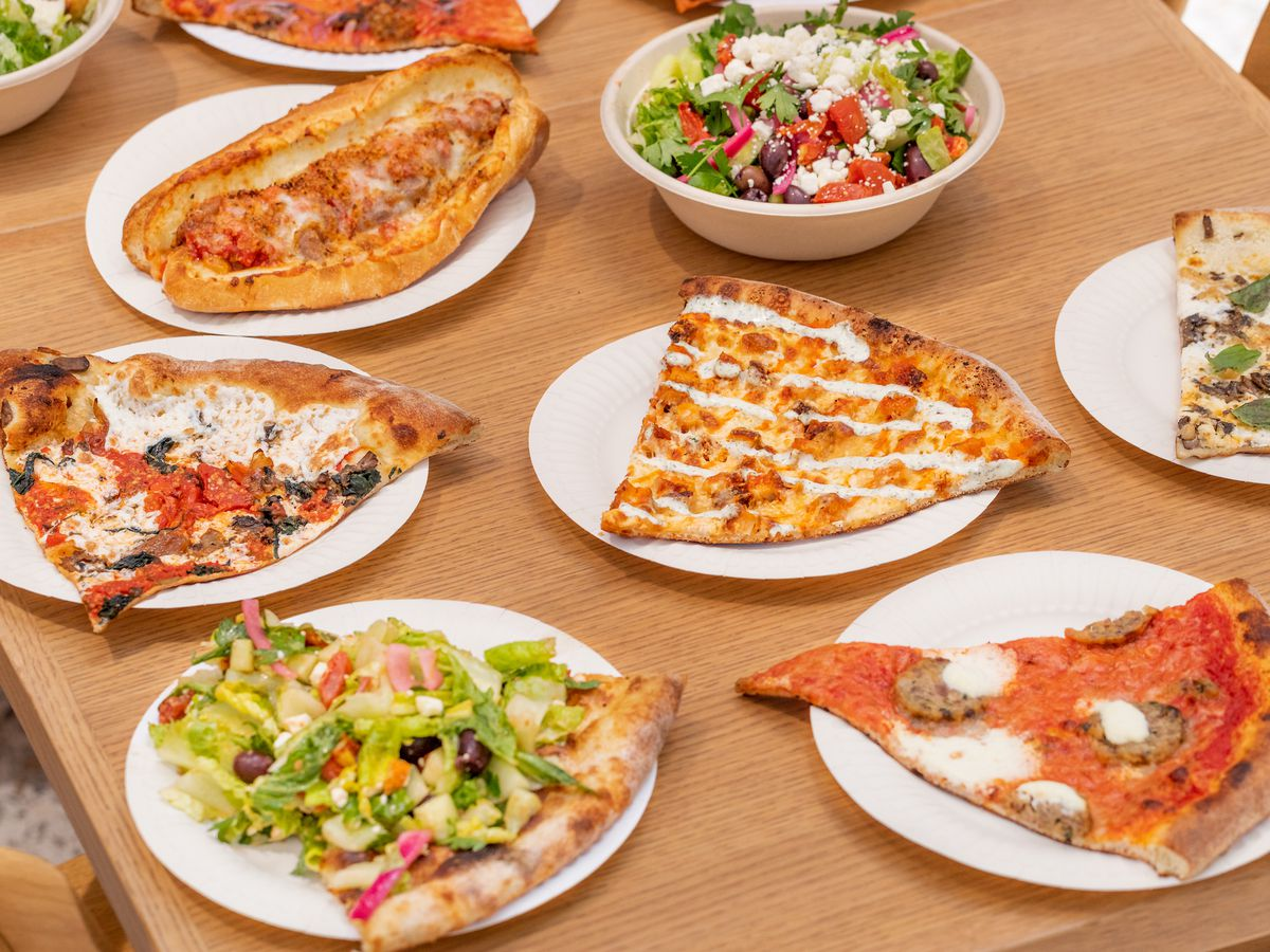 Pizza, sandwiches, and more from Danny Boy's Famous Original Pizza in Downtown LA.