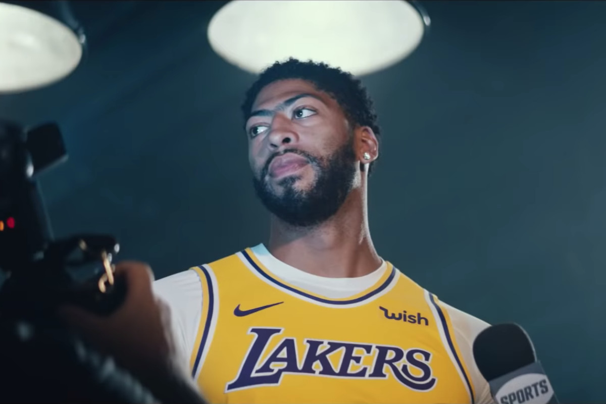 Anthony Davis Shows Off New Lakers Threads In Nba 2k20
