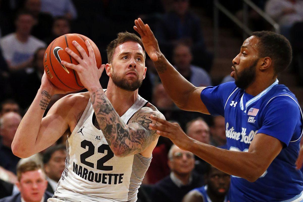NCAA Basketball: Big East Conference Tournament-Seton Hall vs Marquette
