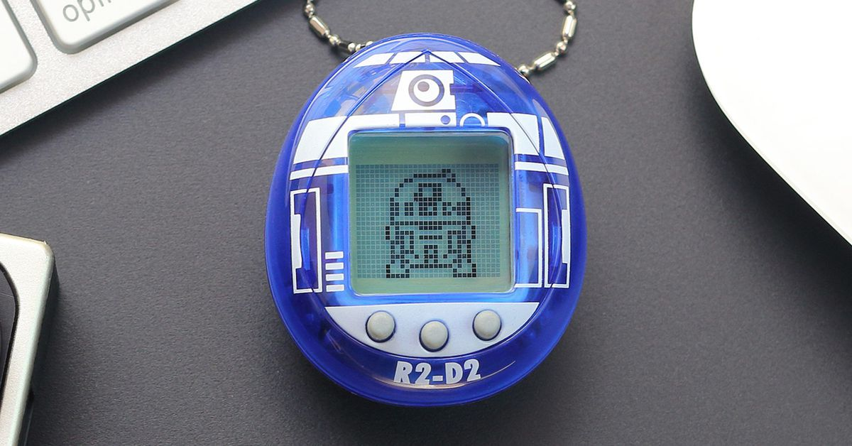 R2-D2 is officially a Tamagotchi digital pet now, two decades too late - The Verge