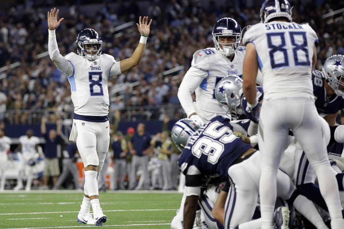bd941248 Cowboys vs. Titans 2018 Week 9 game: Titans crush Cowboys 28-14 as ...