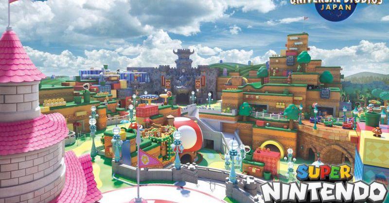 Super Nintendo World Japan's opening indefinitely delayed - The Verge