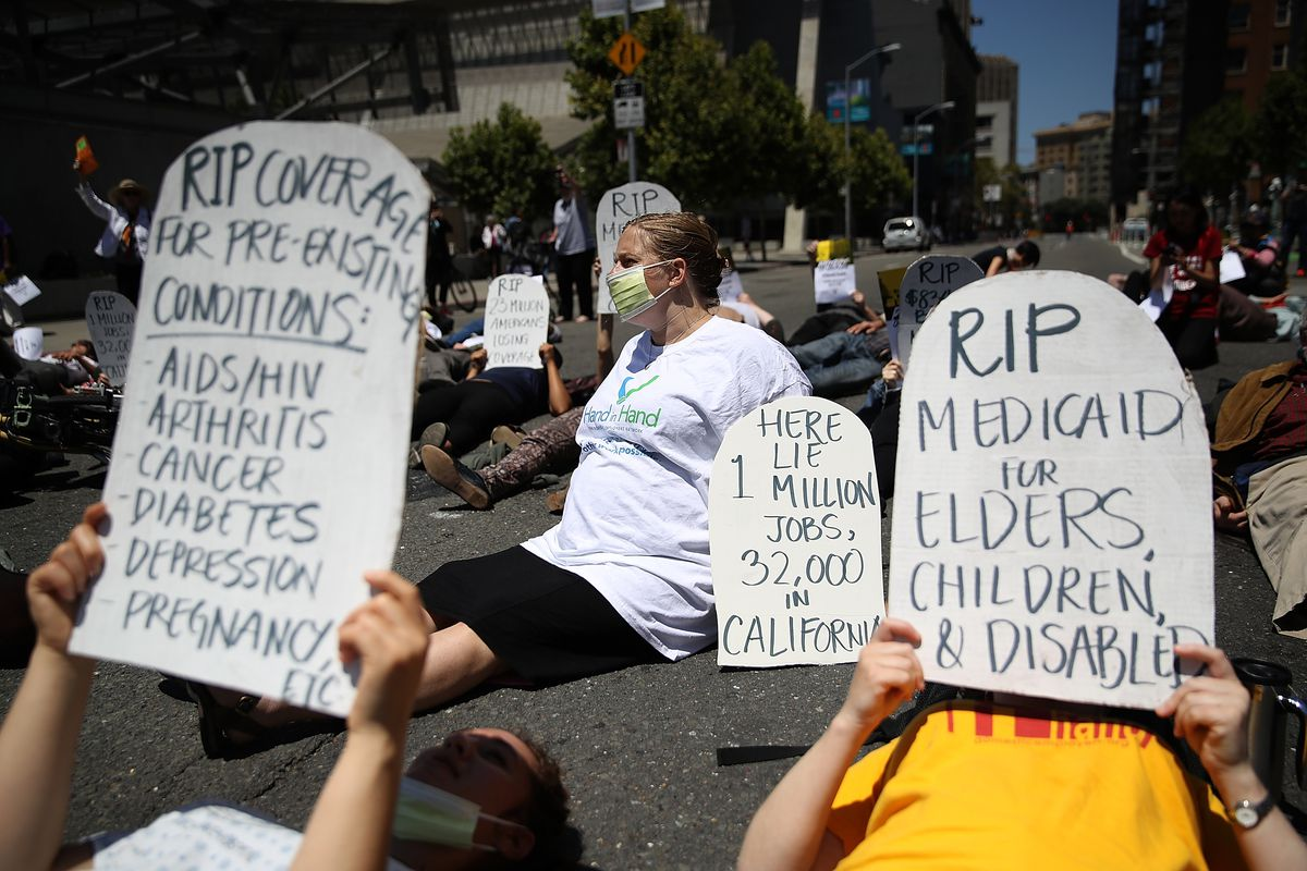 San Franciscans protest Republicans' efforts to repeal Obamacare