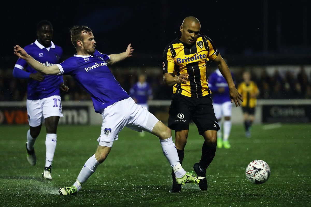 Maidstone United v Oldham Athletic - FA Cup Second Round