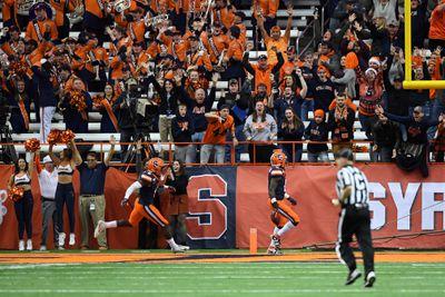 NCAA Football: Wake Forest at Syracuse