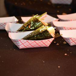 Ahi Tuna sushi from O-Ku