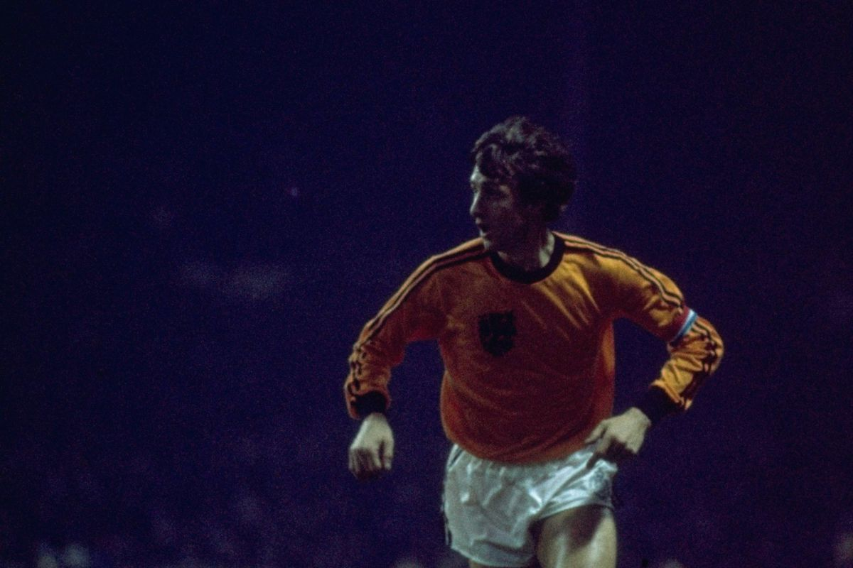 Johan Cruyff of Holland