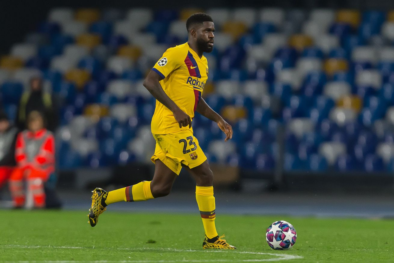 Barca unable to get Umtiti price they want from Premier League