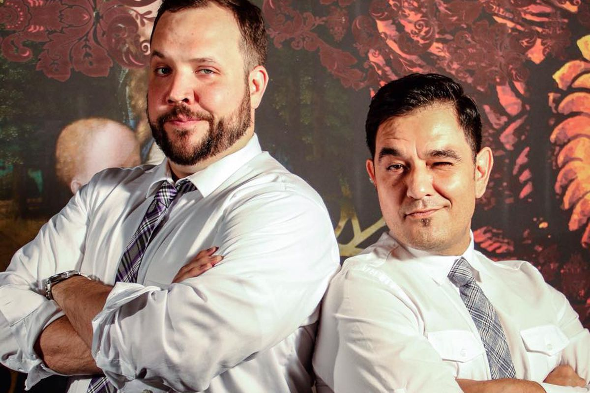Ben Quam and Tomas Iniguez of The Exhange.