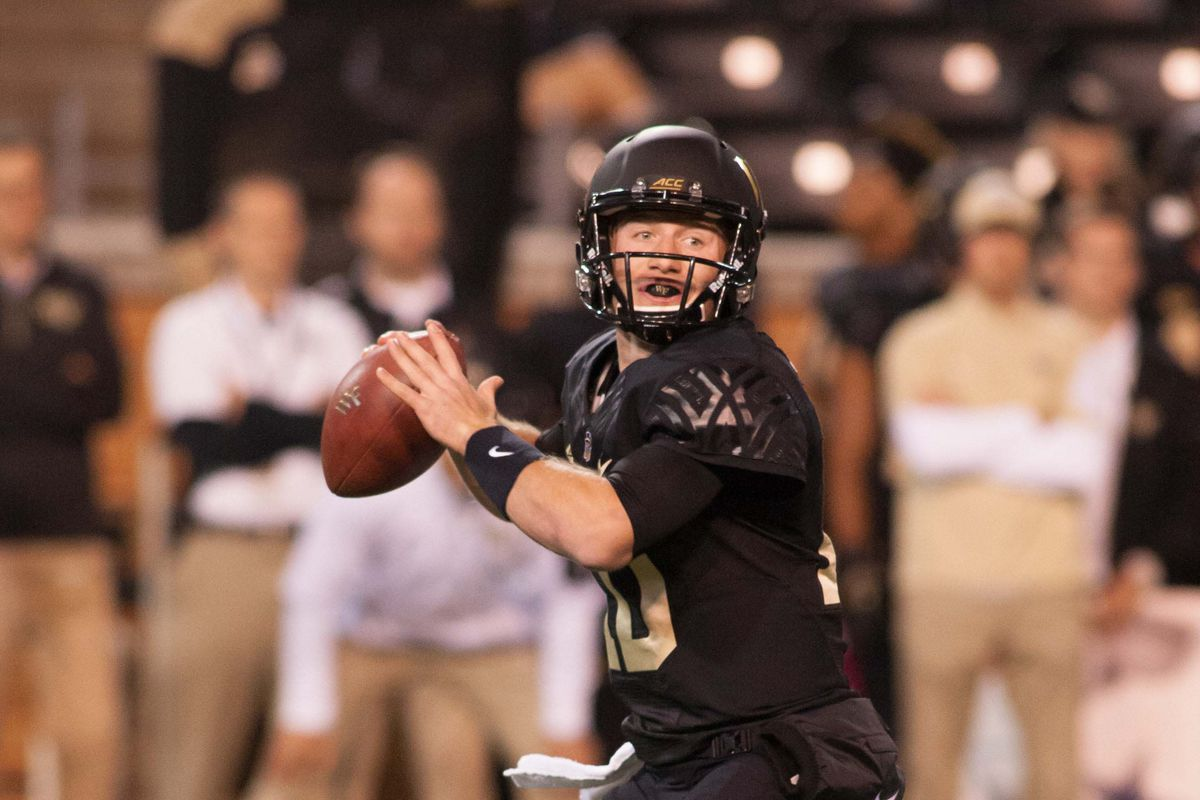 Wake Forest Releases 2016 Depth Chart Blogger So Dear