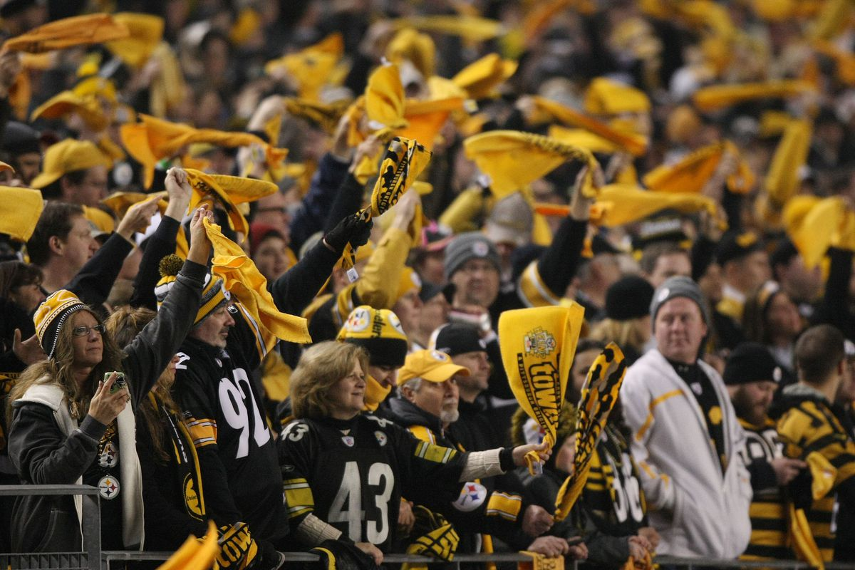 a9f25a3d9 Pittsburgh Steelers fans are more profane on social media than any other NFL  fanbase