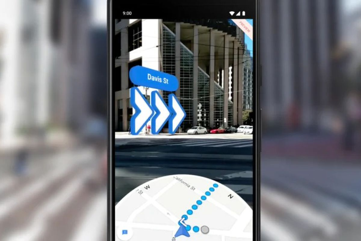 Google Maps AR walking directions arrive on iOS and Android ... on get walking directions, bing get directions, google business card, funny google directions, i need to get directions, google earth street view, google mapquest, maps and directions, google us time zones map,