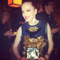 We love how excited Shirley Manson (of rad '90s band Garbage) was to watch Bryan Perry perform live. She knew every word!
