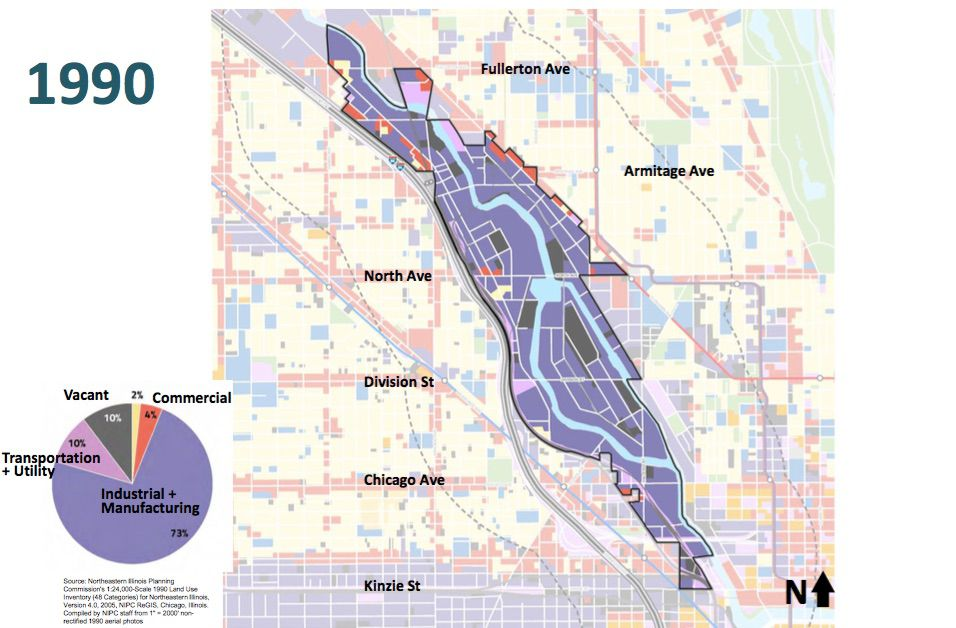 North Branch Chicago Industry Map