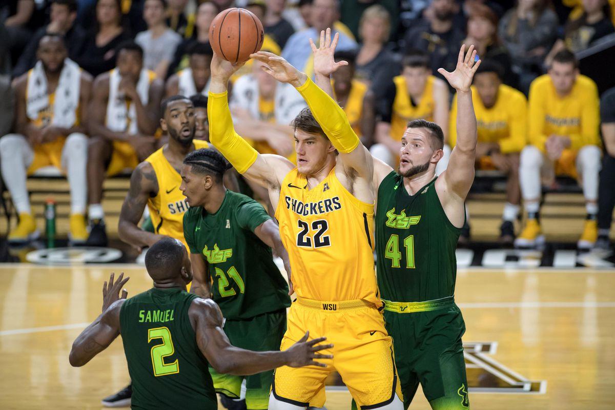 NCAA Basketball: South Florida at Wichita State
