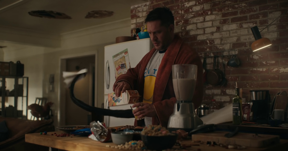 Venom: Let There Be Carnage breakfast scene predicted on Tumblr a year ago  - Polygon