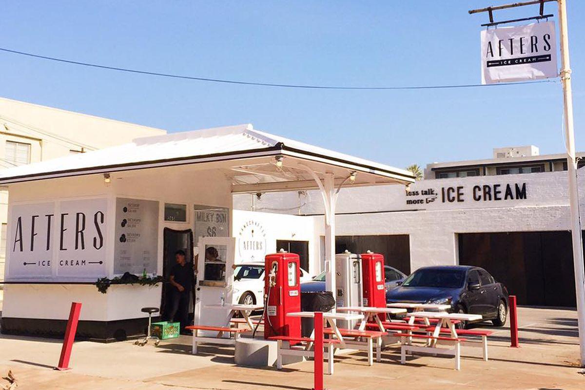 Donut Ice Cream Sandwich Long Beach