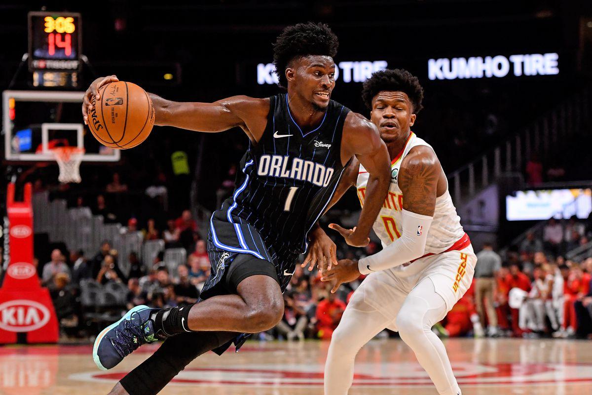 NBA: Preseason-Orlando Magic at Atlanta Hawks