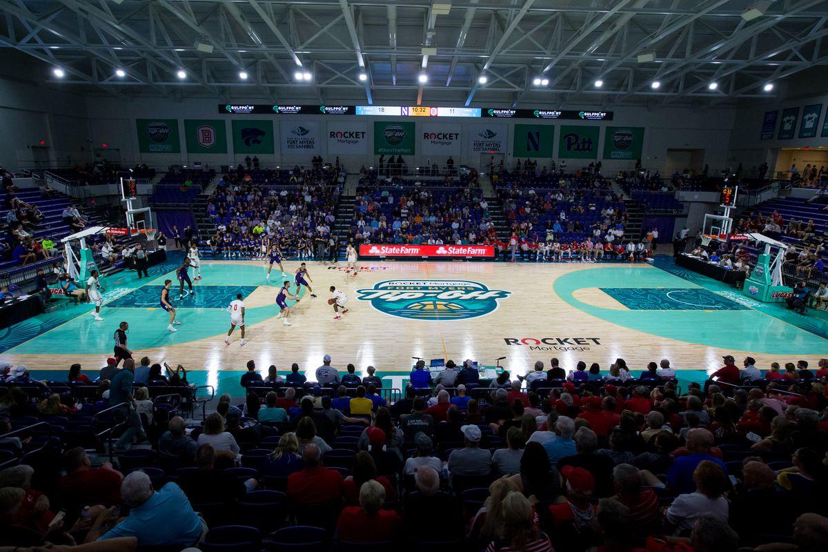 COLLEGE BASKETBALL: NOV 25 Fort Myers Tip-Off - Northwestern v Bradley