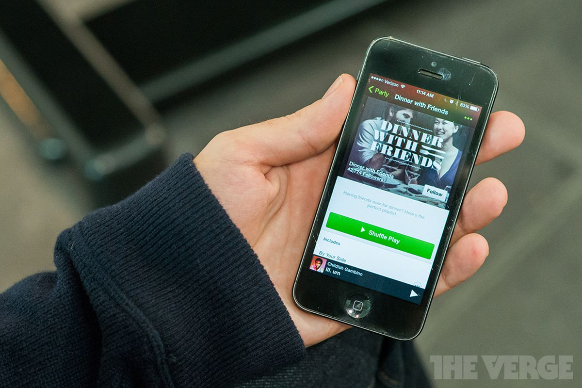 Spotify announces free streaming on Android and iPhone, but